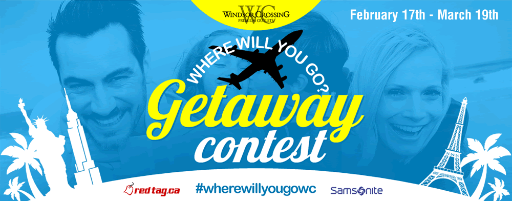 Where Will You Go? Getaway Contest!