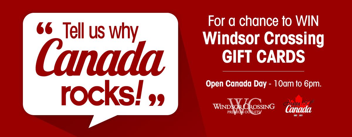 Tell Us Why Canada Rocks!