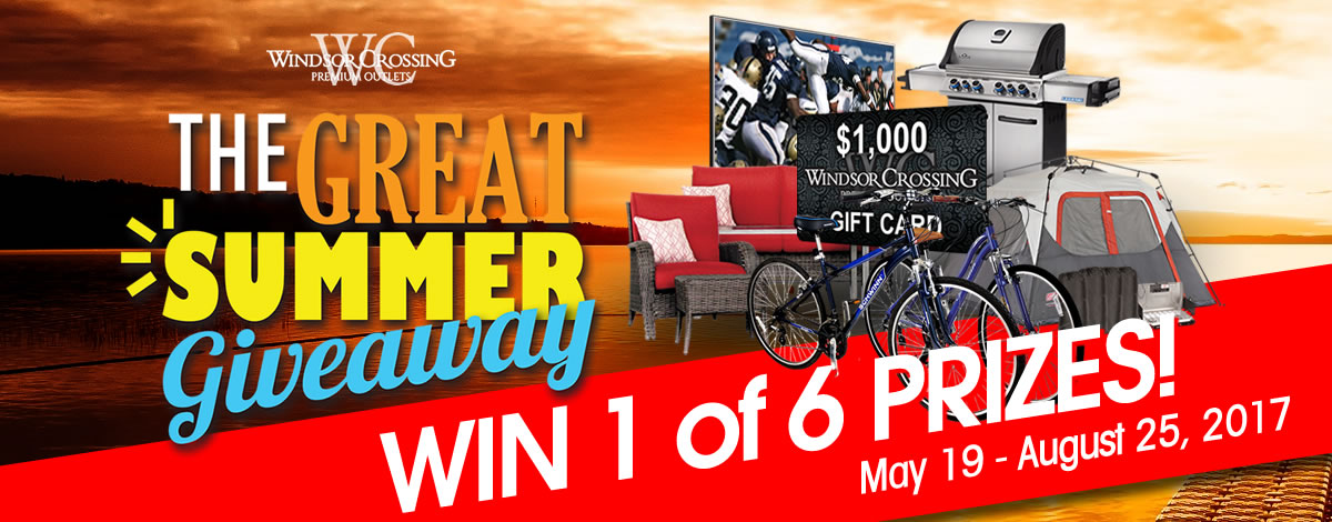 The Great Summer Giveaway